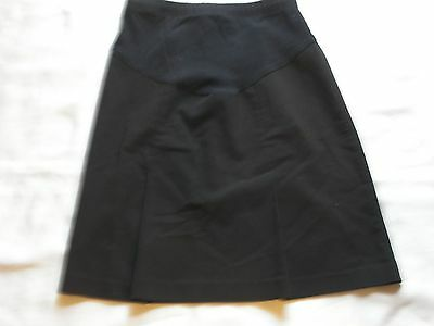 Womens Two Hearts Maternity Black Skirt Size Small
