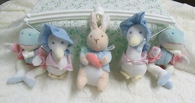 REPLACEMENT MOBILE CROSSBAR  with Peter Rabbit & Friends   1996