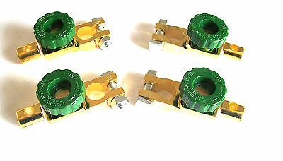 4 Battery Terminal Master Kill Disconnect Switches Switch Tractor Truck Car Rv