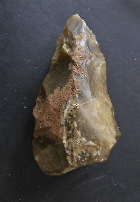 Fine Mousterian Or Neandertal Flint Pointed Tool From France