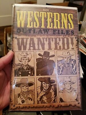 Marvel Westerns: Outlaw Files #1