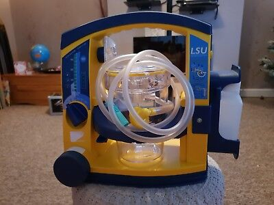 Laerdal Suction Unit LSU with Serres Canister and suction canules