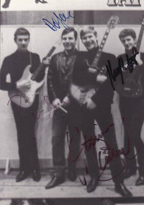 THE RATTLES Autogramm signiert signed Star-Club BEAT