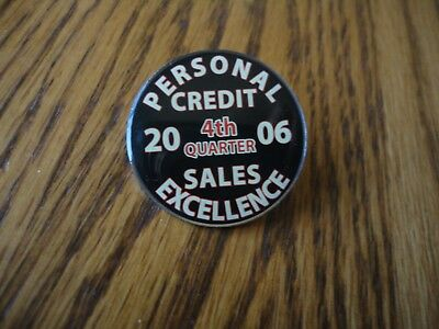 Wells Fargo 2006 Personal Credit Sales Excellence Pin