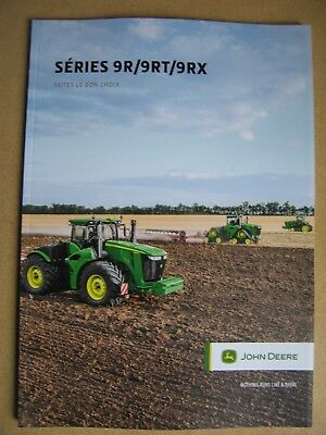 Documentation Brochure Prospectus Tracteur John Deere