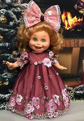 Beautiful dress for  doll Galoob Baby Face