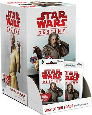 WAY OF THE FORCE - Star Wars Destiny - Sealed Booster Box 36 Packs