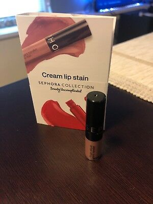 Sephora Collection Cream Lip Stain in 40 Pink Tea Matte Finish - 0.04 oz.
