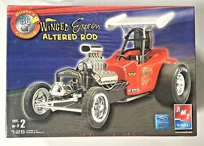 Amt 1/25 Winged Express Altered Rod Plastic Model Kit 38177 F/s Discontinued Kit