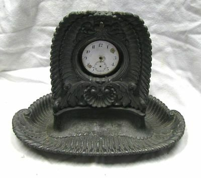 Antique Pewter Pocket Watch Stand & Pocket Watch, Projects to Restore,