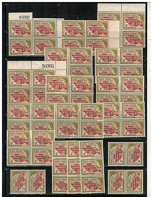 Lot of Ghana Old Stamps MNH