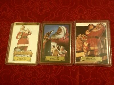 3 Coca-Cola / Coke Christmas'cards : 1994 (3) / 1- 1990 Western  Hockey League