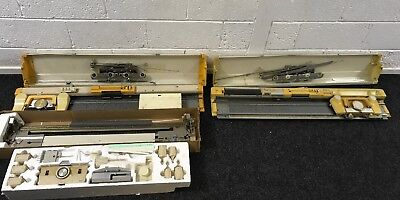 Knitmaster 321 ,6Punch Card Knitting Machine Ribber & Colour Changer Plus Extras