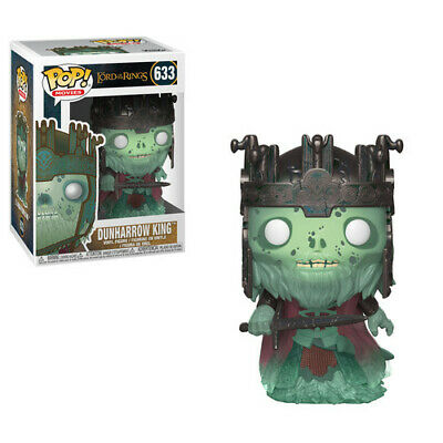 FUNKO POP! MOVIES: Lord of the Rings / Hobbit - Dunharrow King [New Toy] Vinyl