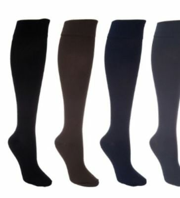 Legacy Women's Graduated Compression Trouser Socks 4 Pack Size Large / XL