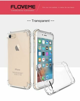 Anti-knock Silicone Armor TPU Transparent Clear Case Cover for Mobile Phone