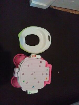 potty with training toilet seat
