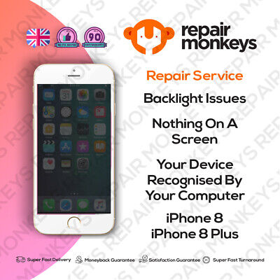 Repair Service For Iphone 8 8 Plus Backlight Ic Nothing On A Screen