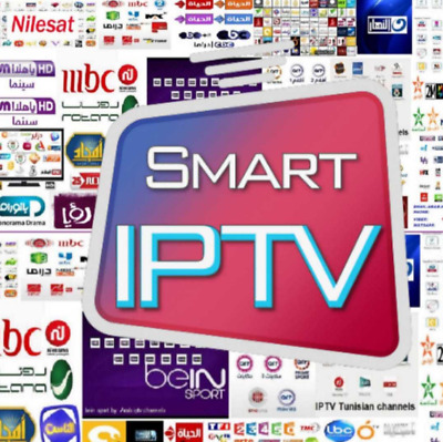 Smart iptv ,12 months subscription Full hd ,samsung, mag ,m3u ,vlc