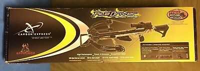 Brand New Carbon Express XFORCE Piledriver 390 Crossbow With Crank 20310