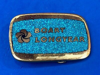 Brass inlay Quality belt buckle BOART LONGYEAR Drilling Equipment Technology
