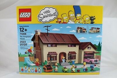 Complete Sets Mib Lego The Simpsons 71006 Simpsons House