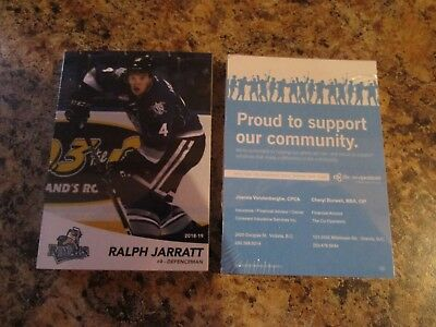 2018-19 Victoria Royals Whl Factory Sealed Team Set