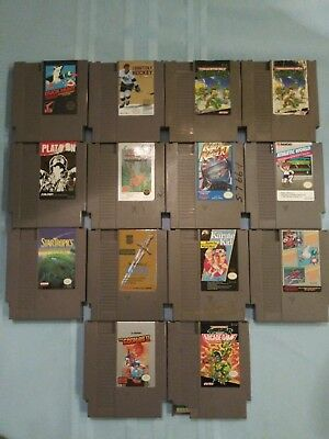 Lot Of 14 Nes Games