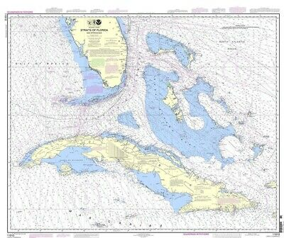 NOAA Nautical Chart 11013: Straits of Florida and Approaches