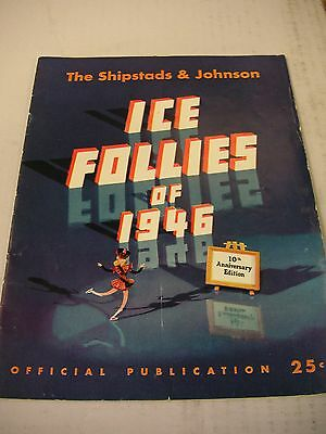 Shipstads & Johnson Ice Follies of 1946 Program  Very Good Condition