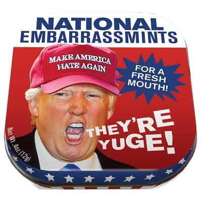 Trump National Embarassmints For a Fresh Mouth Tin of Peppermints