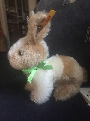 "5"" Steiff Dutch Easter Bunny New, Williams Sonoma Exclusive $79 Retail"