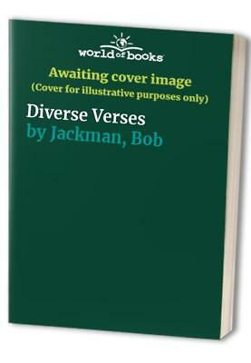Diverse Verses by Jackman, Bob Paperback Book The Cheap Fast Free Post
