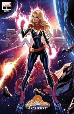 Captain Marvel #1 J. Scott Campbell Exclusive Cover A