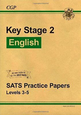 KS2 English SATs Practice Papers - Set 2 by CGP Books Book The Cheap Fast Free