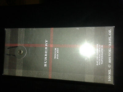 Burberry Touch * Cologne for Men * 3.3 3.4 oz * Brand New In Box