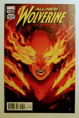 All-New Wolverine #28 Phoenix Variant NM+ CGC 9.8 Candidate