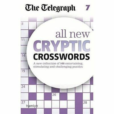 The Telegraph: All New Cryptic Crosswords 7 (The Telegraph Puzzle Books), THE TE