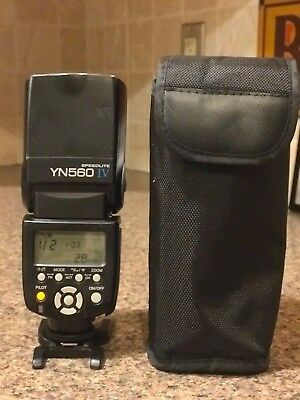 Used Yongnuo YN560 IV Flash Speedlite - Good Condition