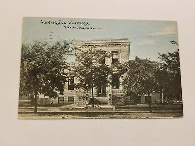 Early View (1910) Carnegie Library - Iola, Kansas