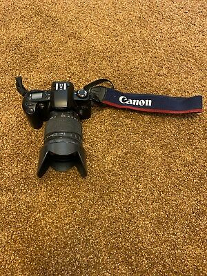 Canon EOS Rebel G / 500N 35mm SLR Film Camera With 28-200mm Lens.