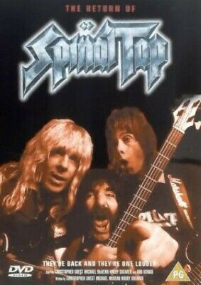 The Return Of Spinal Tap [DVD] - DVD  2DVG The Cheap Fast Free Post