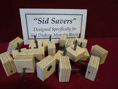 20 SID SAVERS Designed Specifically For Sid Dickens Memory Blocks
