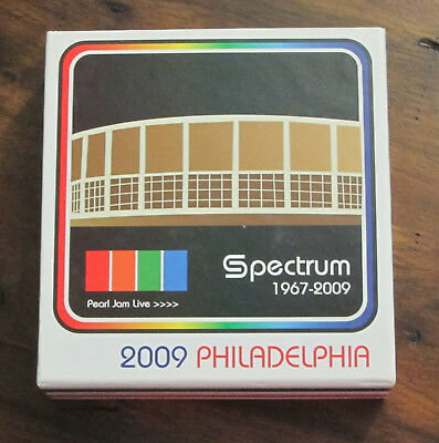 Pearl Jam - 2009 CD Spectrum Box Set with trading cards used.