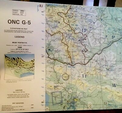 ONC G-5 Operational Navigation Chart
