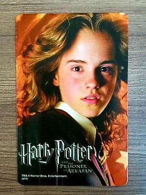 """Card calendar""""harry potter and the prisoner of azkaban""""movie action hermione"""