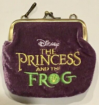 Disney The Princess And The Frog Change Purse