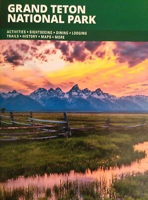 Grand Teton National Park Wyoming 2018 2019 Travel Guide Brochure - New