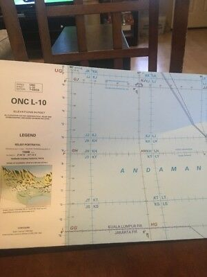 ONC L-10 Operational Navigation Chart 1990