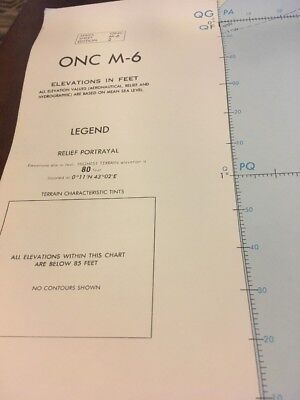 ONC M-6 Operational Navigation Chart